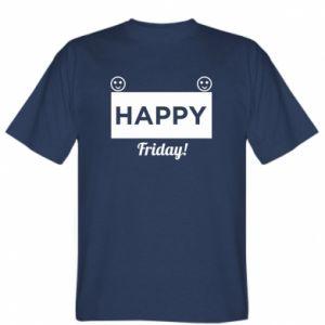 Koszulka męska Happy Friday