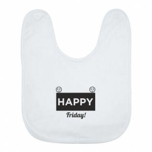 Śliniak Happy Friday