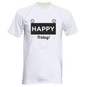 Koszulka sportowa męska Happy Friday