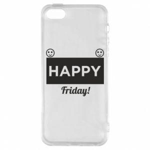 Etui na iPhone 5/5S/SE Happy Friday