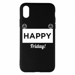 Etui na iPhone X/Xs Happy Friday