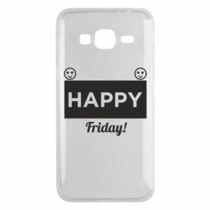 Etui na Samsung J3 2016 Happy Friday