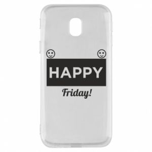 Etui na Samsung J3 2017 Happy Friday