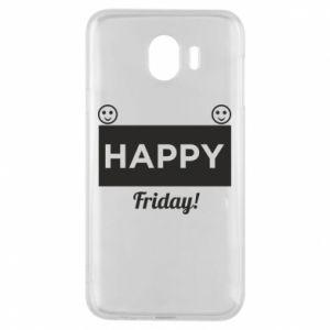 Etui na Samsung J4 Happy Friday