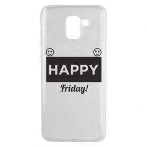 Etui na Samsung J6 Happy Friday