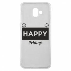 Etui na Samsung J6 Plus 2018 Happy Friday