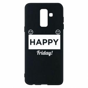 Etui na Samsung A6+ 2018 Happy Friday