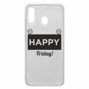 Etui na Samsung A20 Happy Friday