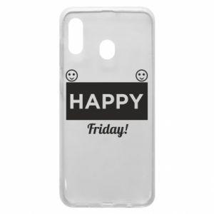 Etui na Samsung A30 Happy Friday