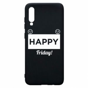 Etui na Samsung A70 Happy Friday