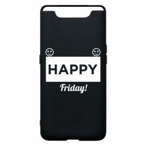 Etui na Samsung A80 Happy Friday