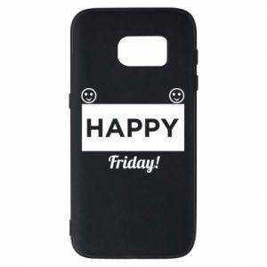 Etui na Samsung S7 Happy Friday