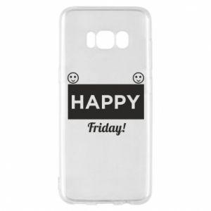Etui na Samsung S8 Happy Friday