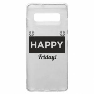 Etui na Samsung S10+ Happy Friday