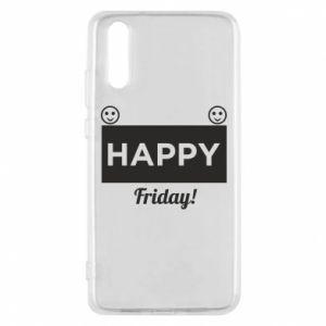 Etui na Huawei P20 Happy Friday