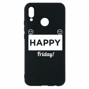 Etui na Huawei P20 Lite Happy Friday