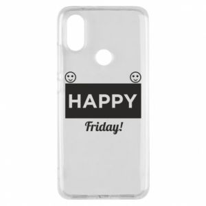 Etui na Xiaomi Mi A2 Happy Friday