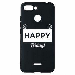 Etui na Xiaomi Redmi 6 Happy Friday