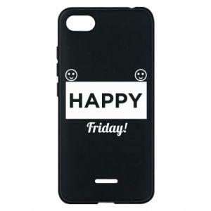 Etui na Xiaomi Redmi 6A Happy Friday