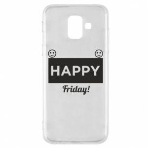 Etui na Samsung A6 2018 Happy Friday