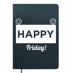 Notepad Happy Friday
