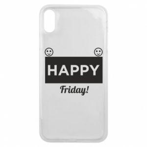 Etui na iPhone Xs Max Happy Friday