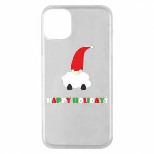 Etui na iPhone 11 Pro Happy Holidays Santa