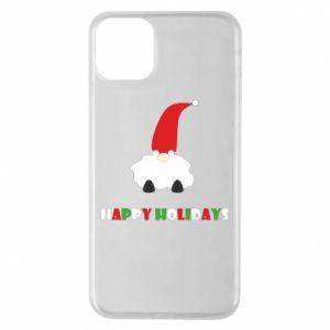 Etui na iPhone 11 Pro Max Happy Holidays Santa