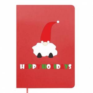 Notes Happy Holidays Santa