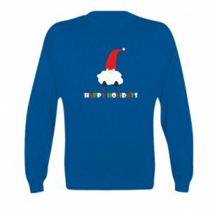 Bluza dziecięca Happy Holidays Santa