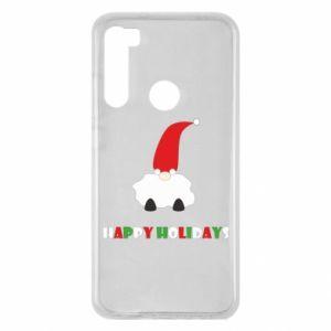 Etui na Xiaomi Redmi Note 8 Happy Holidays Santa