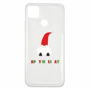 Etui na Xiaomi Redmi 9c Happy Holidays Santa