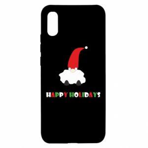 Etui na Xiaomi Redmi 9a Happy Holidays Santa