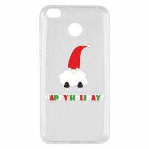 Etui na Xiaomi Redmi 4X Happy Holidays Santa