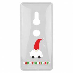 Etui na Sony Xperia XZ2 Happy Holidays Santa
