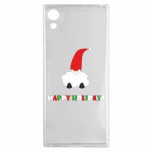 Etui na Sony Xperia XA1 Happy Holidays Santa