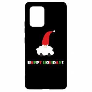 Etui na Samsung S10 Lite Happy Holidays Santa