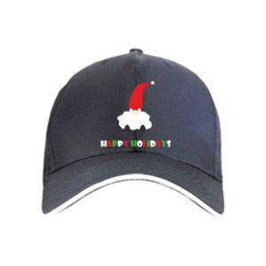 Czapka Happy Holidays Santa