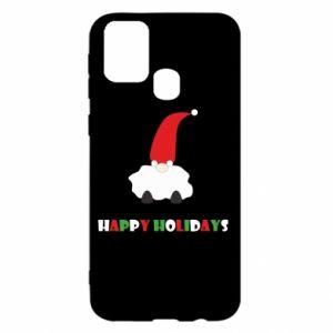 Etui na Samsung M31 Happy Holidays Santa
