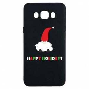 Etui na Samsung J7 2016 Happy Holidays Santa