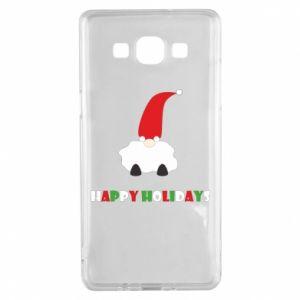 Etui na Samsung A5 2015 Happy Holidays Santa