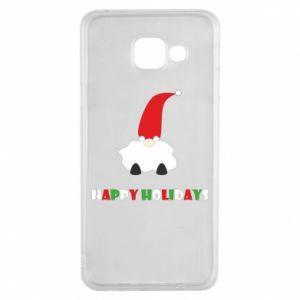 Etui na Samsung A3 2016 Happy Holidays Santa