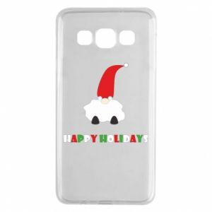 Etui na Samsung A3 2015 Happy Holidays Santa