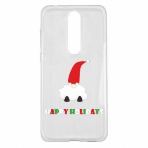 Etui na Nokia 5.1 Plus Happy Holidays Santa
