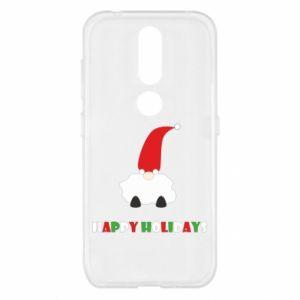 Etui na Nokia 4.2 Happy Holidays Santa