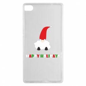 Etui na Huawei P8 Happy Holidays Santa