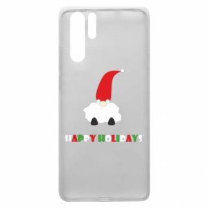 Etui na Huawei P30 Pro Happy Holidays Santa