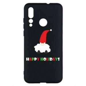 Etui na Huawei Nova 4 Happy Holidays Santa