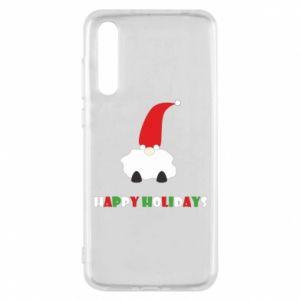 Etui na Huawei P20 Pro Happy Holidays Santa