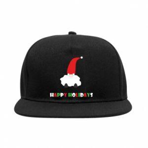 Snapback Happy Holidays Santa